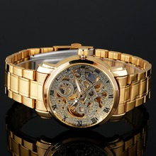 WINNER Men's Watch Skeleton Mechanical