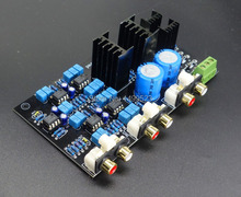 Assembled preamp  two-level electronic crossover board 2 divider   Adjustable crossover point can be replaced