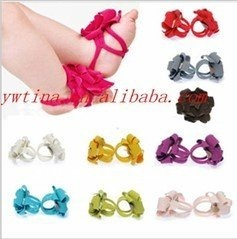 2012 new TOP BABY foot flower shoes! baby boots fashione TODDLER prewalker shoes sandals CPAM