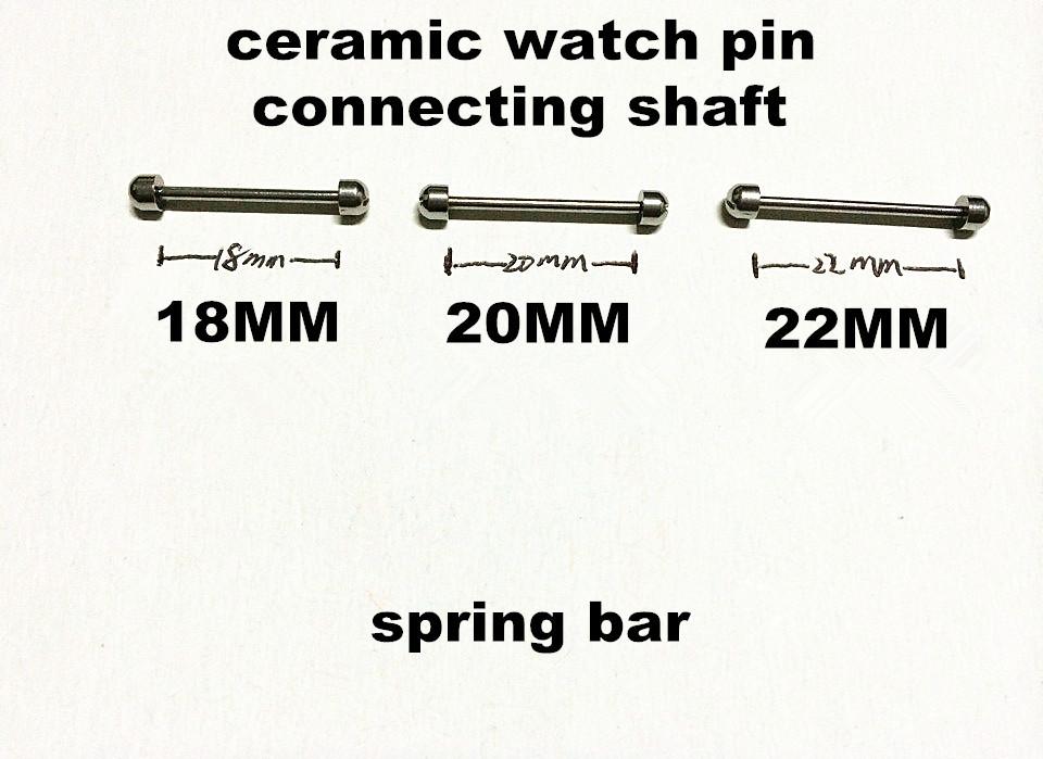 Wholesale 10PCS/lots watch repair tools & kits spring bar ,ceramic watch pin ,connecting shaft ,18MM,20MM,22MM,gold,silvery(China (Mainland))