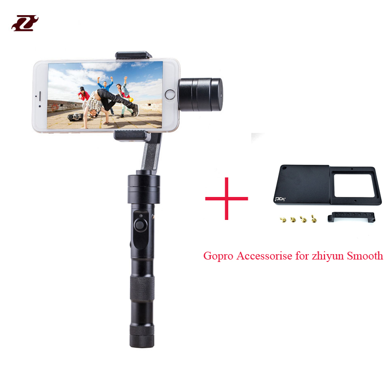 Hotsale Zhiyun Z1-Smooth C/R 3 Axis Handheld Brushless Gimbal for iPhone 6 plus Samsung S5 S6 Yota Phone Stabilizer<br><br>Aliexpress