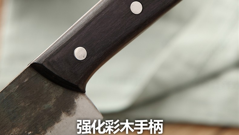 Buy Free Shipping Metal Forged Handmade Clip Steel Chef Boning Knife Split Butcher Meat Knife Kitchen Professional Slicing Knives cheap