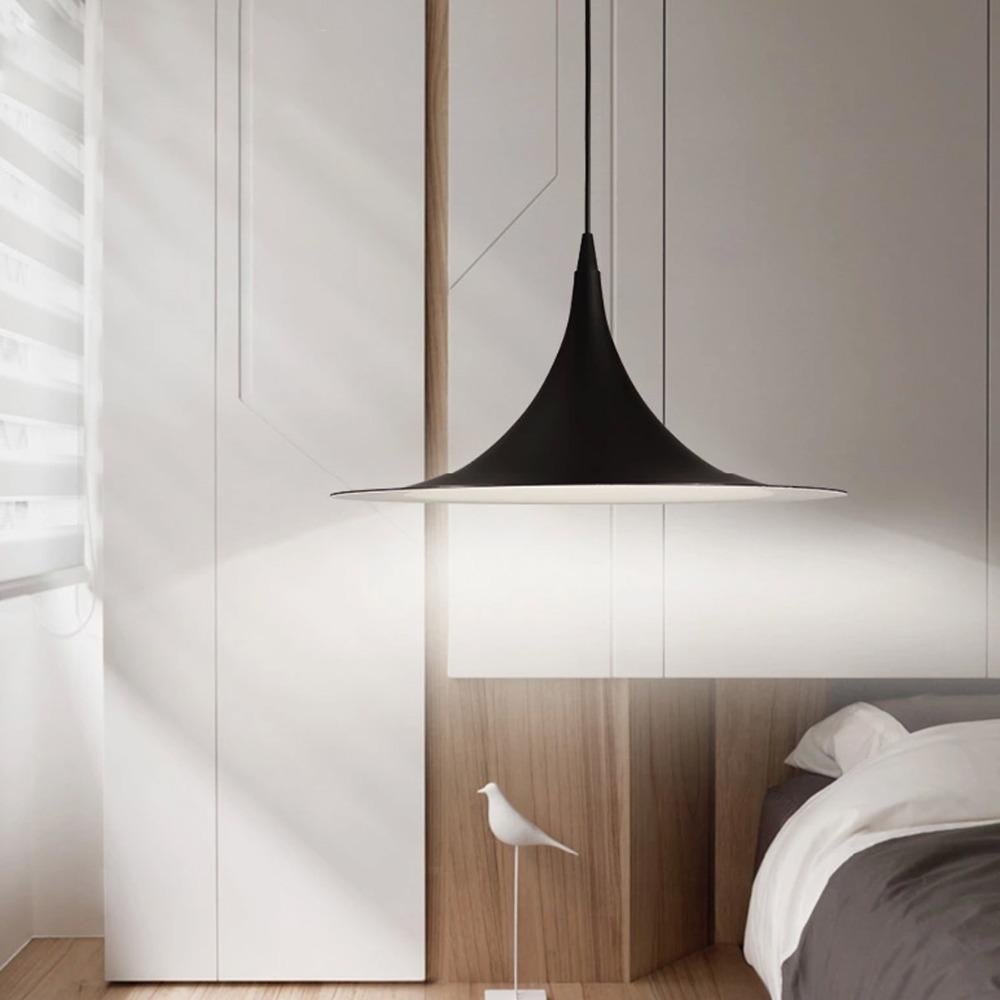 Online kopen Wholesale black pendant loft modern uit China black ...