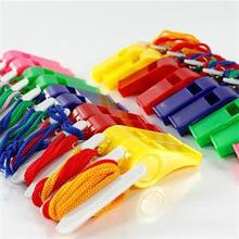 Hot Selling 20pcs/bag plastic whistle professional soccer referee whistle basketball referee whistle dolphin apito cheap(China (Mainland))
