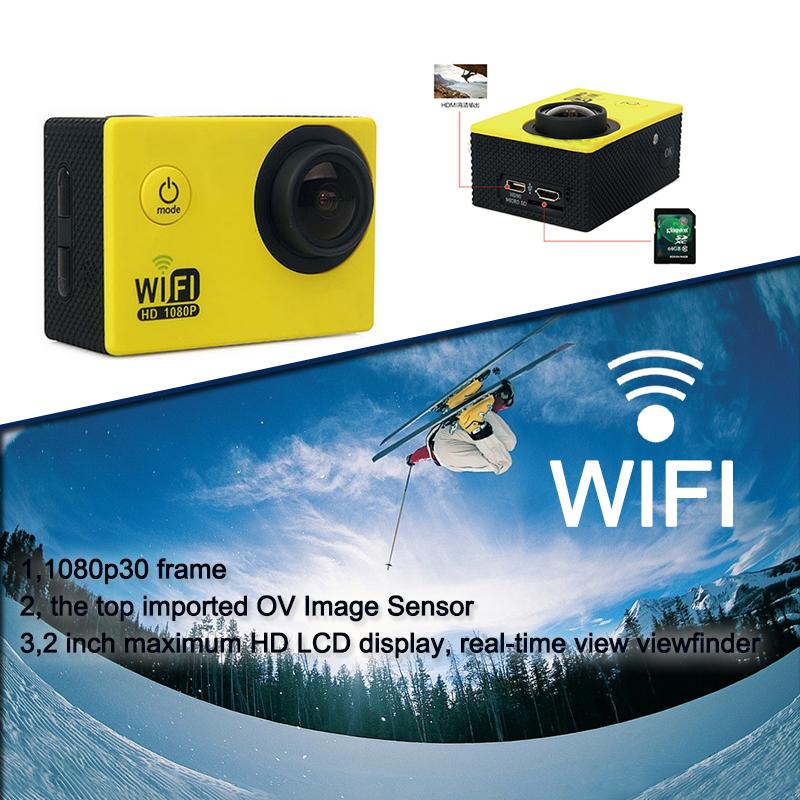 Newest ST SJ4000 1080p 30fps WIFI Camera 4K 120 Degrees Waterproof Mini Sports pro Camera VS SJCAM SJ5000 Fast Shipping