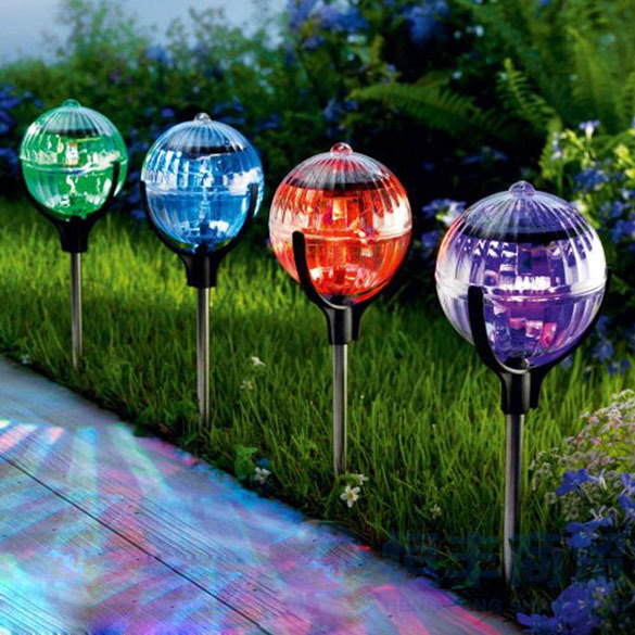 Free Shipping 2pcs Solar Outdoor Garden Pool Pond Floating Light Color Changing LED Light NVIE<br><br>Aliexpress