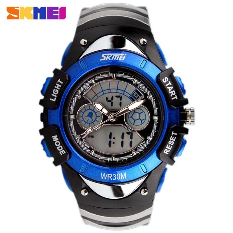 New Fashion SKMEI Brand Children Sports Watches LED Digital Quartz Military Watch Boy Girl Student Multifunctional Wristwatches(China (Mainland))