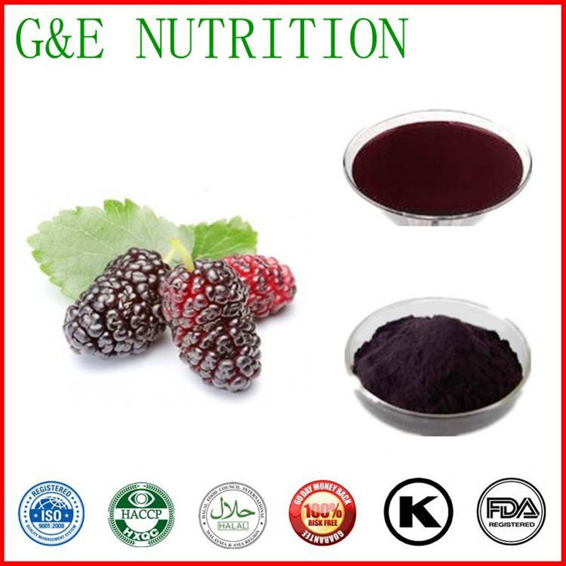 Lyphar Supply Best Quality Mulberry Fruit Extract   20:1   800g<br><br>Aliexpress