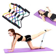 Buy Rubber Latex Resistance Training Bands Yoga Comprehensive Fitness Exercise 8 Type New Stretch Rope Tube Workout Exercise for $1.45 in AliExpress store