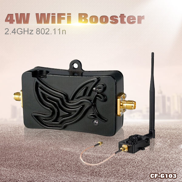 COMFAST Wifi Signal Booster 2.4Ghz 4W 802.11 SIGNAL Extender Wifi Repeater Broadband Amplifiers for Wireless Router Network card(China (Mainland))