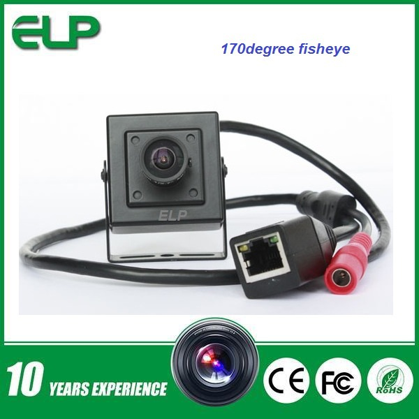 Камера наблюдения ELP 2.0 Onvif h.264 full hd, poe p2p IP/170   ELP-IP1882-F170-poe h 264 1mp security ip camera outdoor cctv full hd 720p bullet camera ip 6mm lens ir cut filter onvif array led