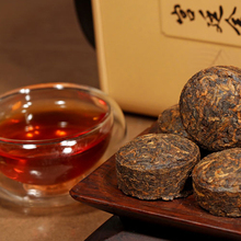 10 Years Old Top Grade Puer Golden Cake 200g Chinese Original Yunnan Puerh Tea About 40pcs
