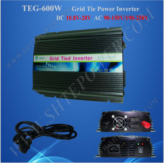 Over Temperature Protection endurable 220v 600w grid tie micro solar inverter(China (Mainland))