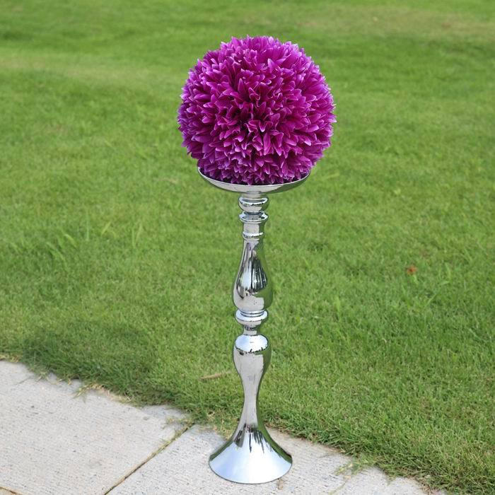 120cm Wedding Mermaid host guest vase Candlestick T station welcome area arranged reception table ornament props without flower(China (Mainland))