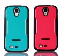 S4 / S4 mini Luxury TPU frame + PC back Case For Samsung Galaxy S4 i9500 / S4 mini Cover Coque Fundas, HY