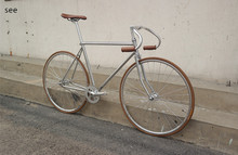 SEE fixed gear bike vehicle vintage racing retro bicycle 700C Single Speed scopper tube LUG city cycle  Leisure travel(China (Mainland))