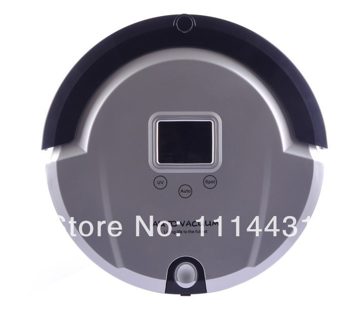 Free Shipping 2013 The Most Popular Floor Cleaning Robot With Longest Working Time,UV Light,Schedule,Dirt Detection(China (Mainland))