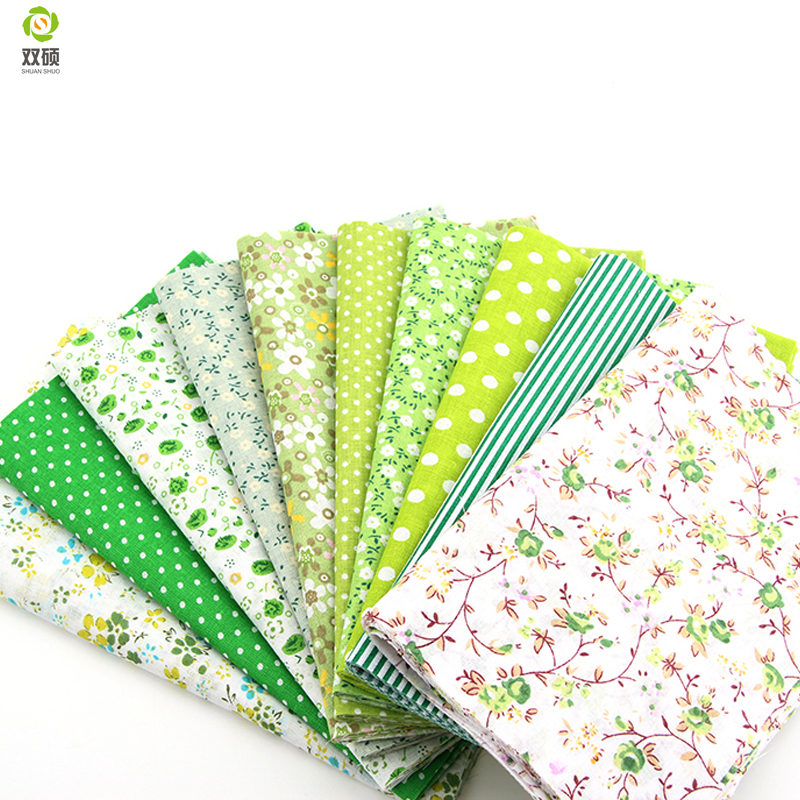 Telas Patchwork Cotton Fabric Non Slip Fabric Print Fabric Floral Series Sewing Fabric Bundle 50pcs/lot 24cm*20cm A1-50-1