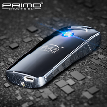 Usb charge arc lighter windproof male personality electronic cigarette lighter birthday gift lettering