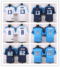 100% Stitiched,Tennessee Titans,DeMarco Murray Kendall Wright Delanie Walker Eddie George Marcus Mariota(China (Mainland))