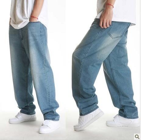 Blue loose male men's fashion jeans wash cotton hip-hop cowboy jeans men brand 2012 D065