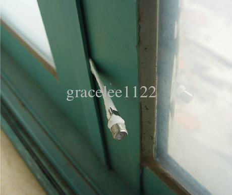 50 PCS/LOT FLAT COAXIAL COAX CABLE RG6 RG-6 DOOR RV WINDOW FREE SHIPPPING(China (Mainland))
