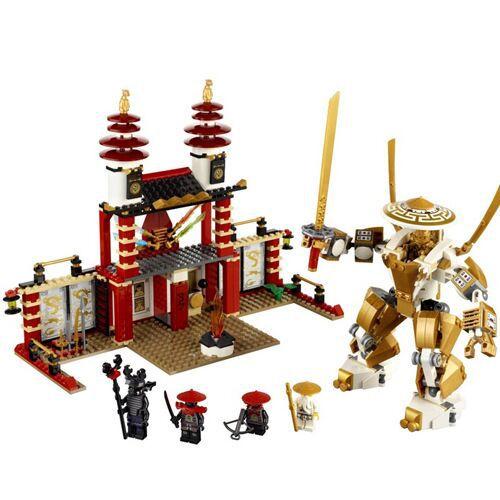 2014 BELA 9734 Ninjago Ninja Dojo building blocks 37Diy brick Educational Toys