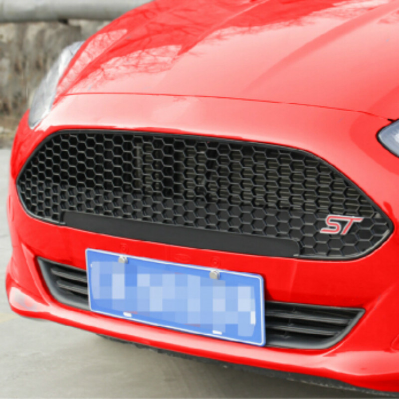 Pure Piano Black Fresh Fiesta Racing Grill ST Grille Ford 2013 2014 2015 Car Reftting Accessories - Pozel Shopping Maill Store store