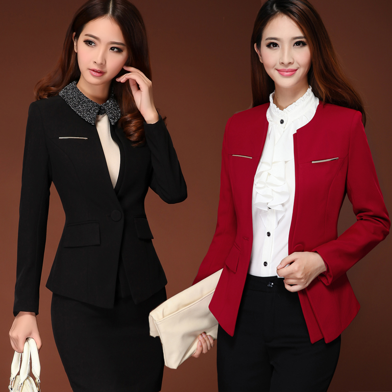 Pics for corporate uniform designs for women 2013 for Office uniform design 2016