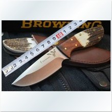 Free shipping  Browning  Stainless steel  Camping knife  Hunting knife  Gift tool