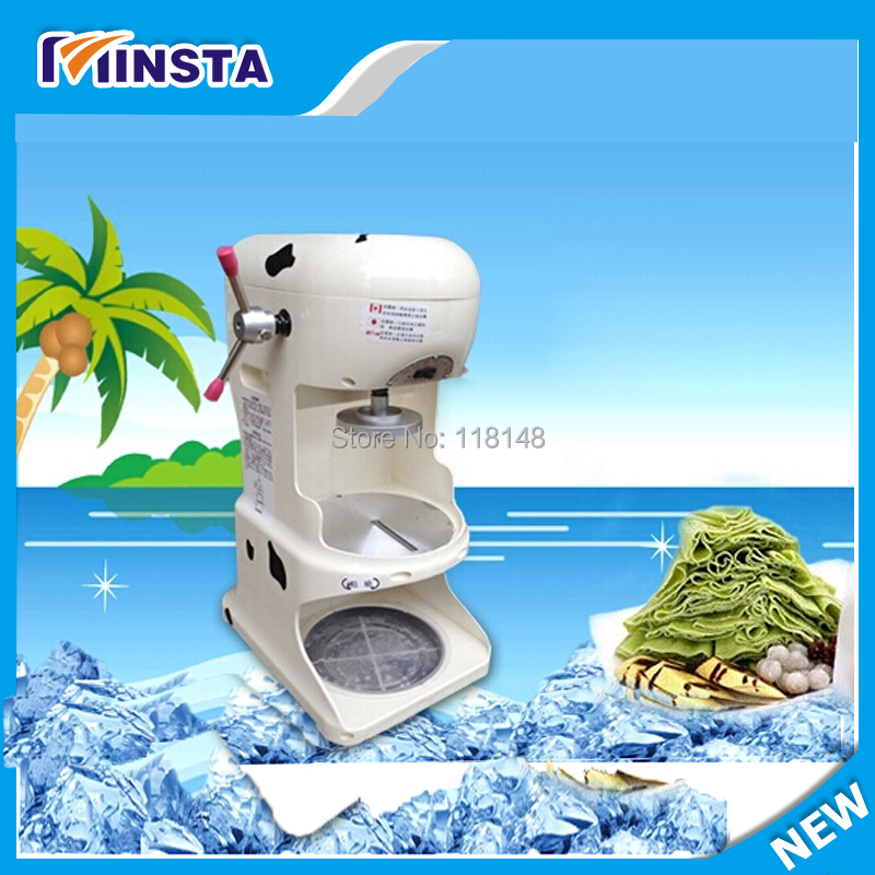 block shaving machine ice crusher cook tools family kitchen tools ice shaver(China (Mainland))