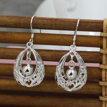 Earrings Jewelry Fashion Women Vintage High-grade Silver Drop Dangle Earrings(China (Mainland))
