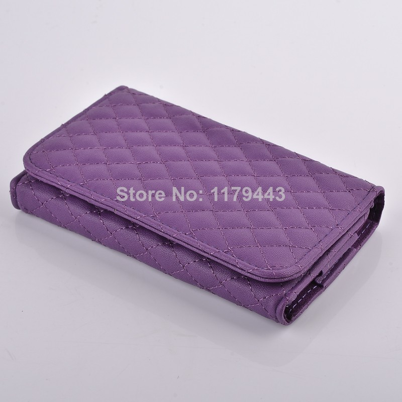 Hot Sale Portable Flip Wallet Leather Case Cover for HTC One X at AT&T Free Shipping(China (Mainland))