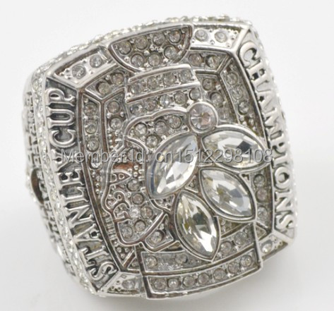 Retro 2010 Chicago Blackhawks Stanley Cup champions rings size 11 - Fans championship for sale store