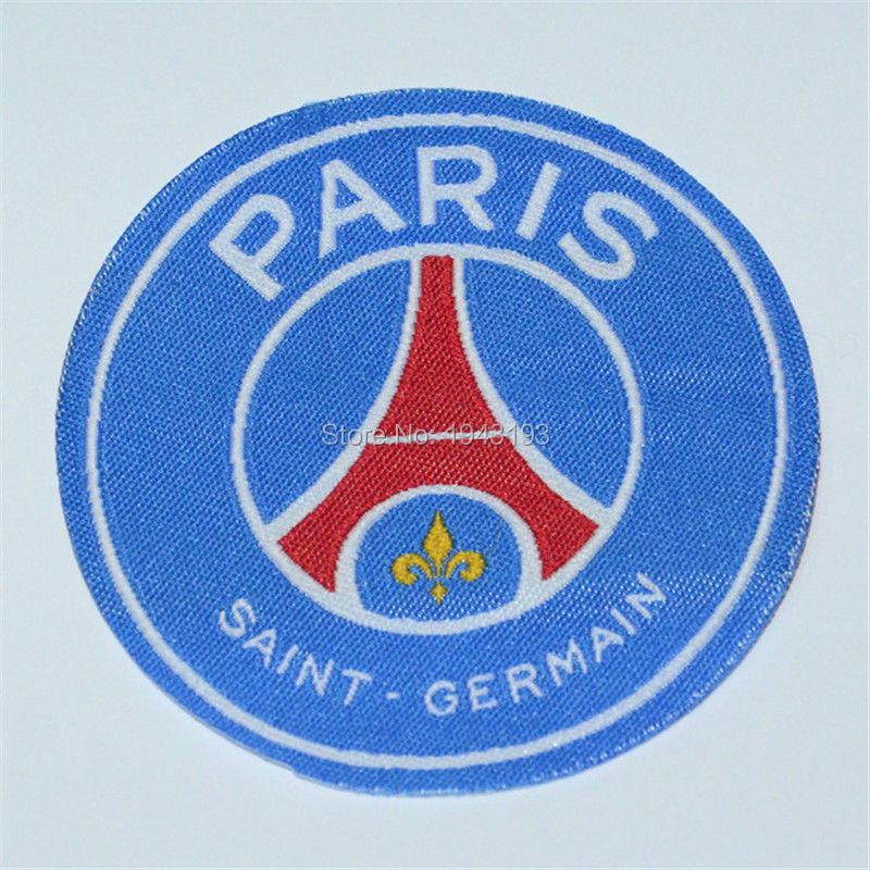patch for psg jersey badge Iron on for clothing soccer club football stickers for clothes logo maillot psg sports patches(China (Mainland))