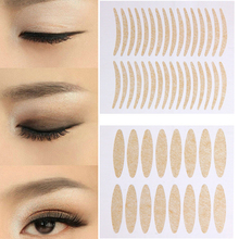 Buy BITTB 72 Pairs Makeup Clear Thick Eyelid Stripe Eyes Invisible Double Fold Eyelid Shadow Sticker Double Eyelid Tape Beauty Tools for $1.49 in AliExpress store