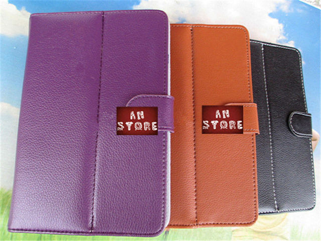 Universal 10 Inch Tablet PC Case,PU Leather Case For Tablet PC Case For Samsung Tab 2,Free Shipping