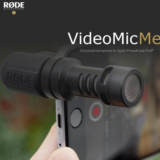 2016 New Arrival Rode VideoMic Me Compact Mini Directional Microphone for iPhone 6s 6 plus and android smartphone Recorder Mic(China (Mainland))