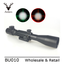 Factory Direct Price Sniper Scope3-9x40EG Illuminated Red Green Optical Sight RIFLE SCOPE For Recreational Target Shooting
