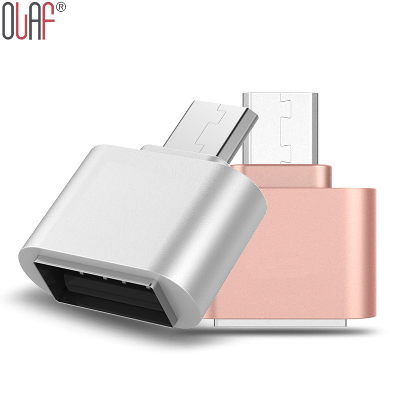 Micro Usb OTG Adapter Android Converter Aluminum Usb 2.0 Phone otg For Samsung Galaxy s6 s3 s4 s5 LG Sony(China (Mainland))