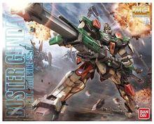 100% Original Bandai Gundam Master Grade MG 159 1/100 GAT-X103 Buster Pre-painted Model Kit Made in Japan(China (Mainland))