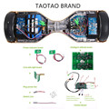 Mainboard Balanceboard Hoverboard Ersatzteil Platine Sensor Controller SET