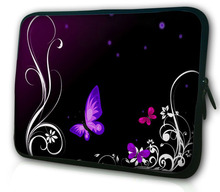 Buy New Butterfly Neoprene 5/ 7/ 10/ 11/ 12 /13 14/ 15/ 17 Inch Laptop Sleeve Bag Handle Bag Netbook Inner Pouch Computer PC bag # for $5.27 in AliExpress store