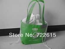 hot sale custom nonwoven tote bags reusable drawstring bag foldable promotional gift bag(China (Mainland))