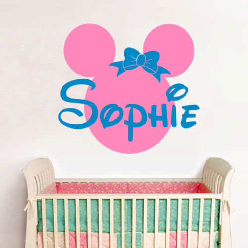 online get cheap minnie mouse wall decal. Black Bedroom Furniture Sets. Home Design Ideas