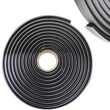 Thickness1cm Length 4m Black Butyl Rubber Glue HEADLIGHT SEALANT RETROFIT Reseal HID Headlamps TAILLIGHT Shield Glue Tapes(China (Mainland))