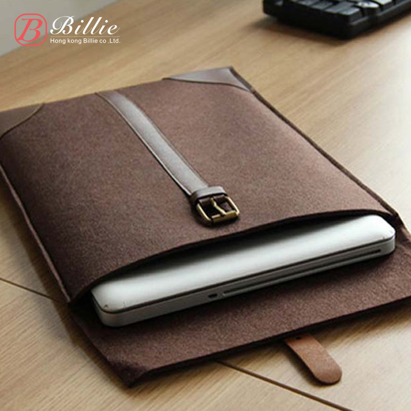 """Newest ! Fashion Laptop Cover Case Netbook For Retina Notebook Sleeve bag 11""""13""""15"""" Wool Felt Ultrabook Sleeve Pouch Bag(China (Mainland))"""