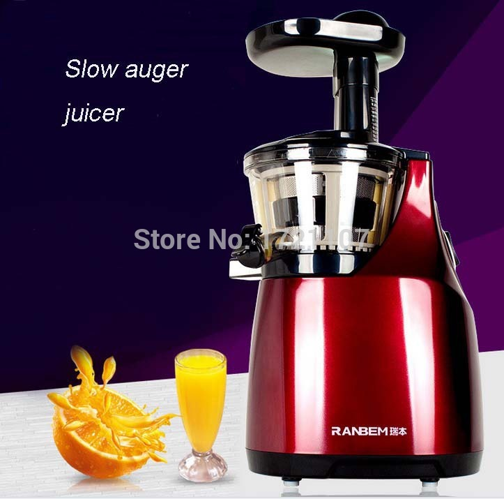 Slow Juicer Reviews 2015 : 2015 New Arrival Slow Auger Juicer, High value home appliance-in Juicers from Home Improvement ...