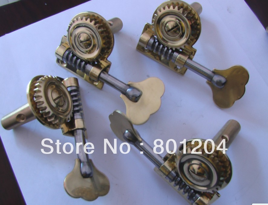 one set of NEW 4/4 double bass machine head winder pegs<br><br>Aliexpress