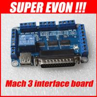Mach3 usb cnc controller mach3 breakout board 5 axis usb cnc controller usb to take power D003A